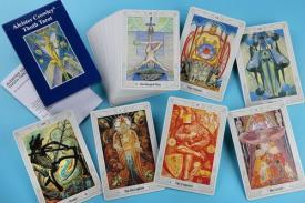 TAROTS A.G.M | ALEISTER CROWLEY TOTH TAROT LUXE GRANDE (INGLES)