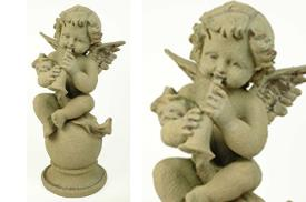 FIGURAS ANGELES | FIGURA ANGEL MUSICAL 20 X 15 X 30 CM.
