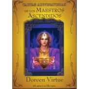 CARTAS GUY TREDANIEL EDICIONES | Oraculo Cartas Adivinatorias de los Maestros Ascendidos - Doreen Virtue (Set) (44 Cartas) (Guyt)